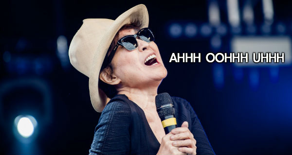 Oh look.... Yoko wants to be featured as the Monday earworm as well!