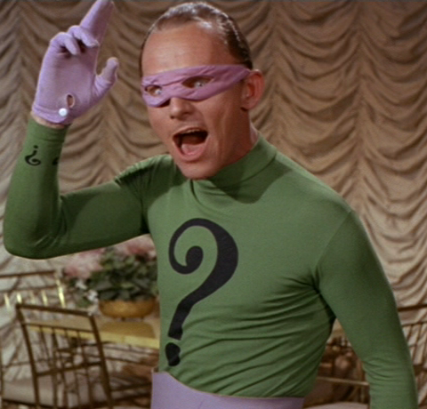I knew Frank Gorshin.  And you, Mr. Carrey, are no Frank Gorshin!