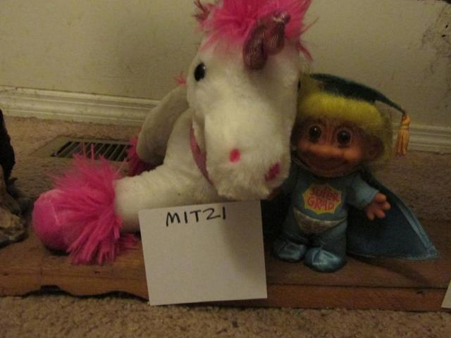 Mitzi and Troll would be examples of characters I created completely on my own... and will no doubt haunt me on any psychological evaluation I ever have to undergo.