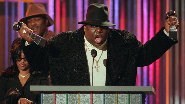 Does this clown think he's bigger than Biggie? Man, I don't think so...