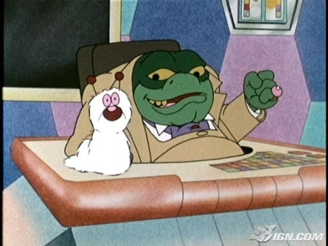 I guess there were three times Baron von Greenback outsmarted Danger Mouse...