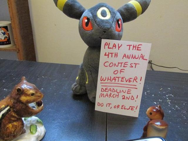 Do what the Umbreon says and nobody will get hurt.