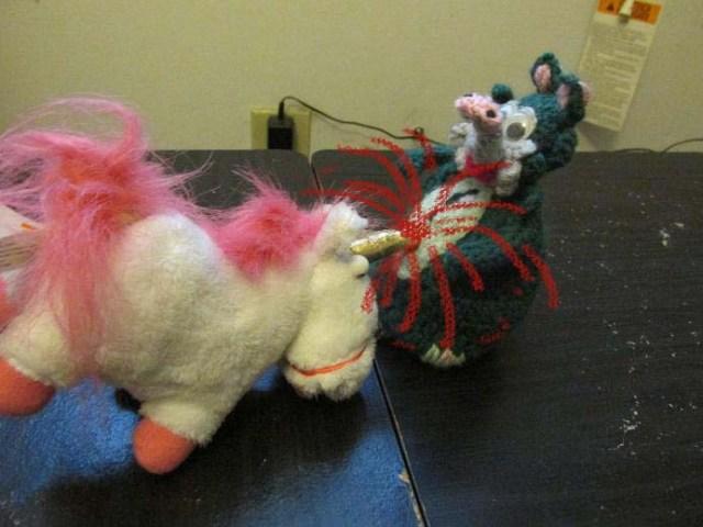 unicorn goring possum