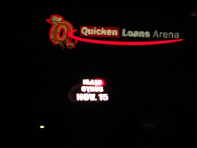 If Quicken Loans knew what kind of entertainment was being provided there, they might demand their money back...