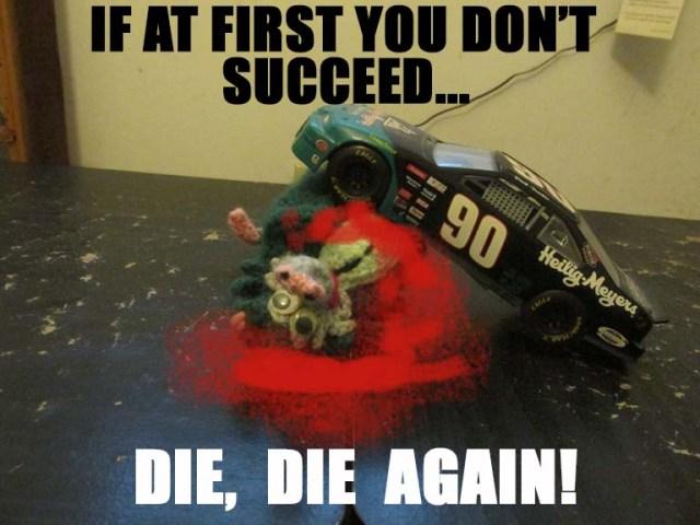 die possum die!